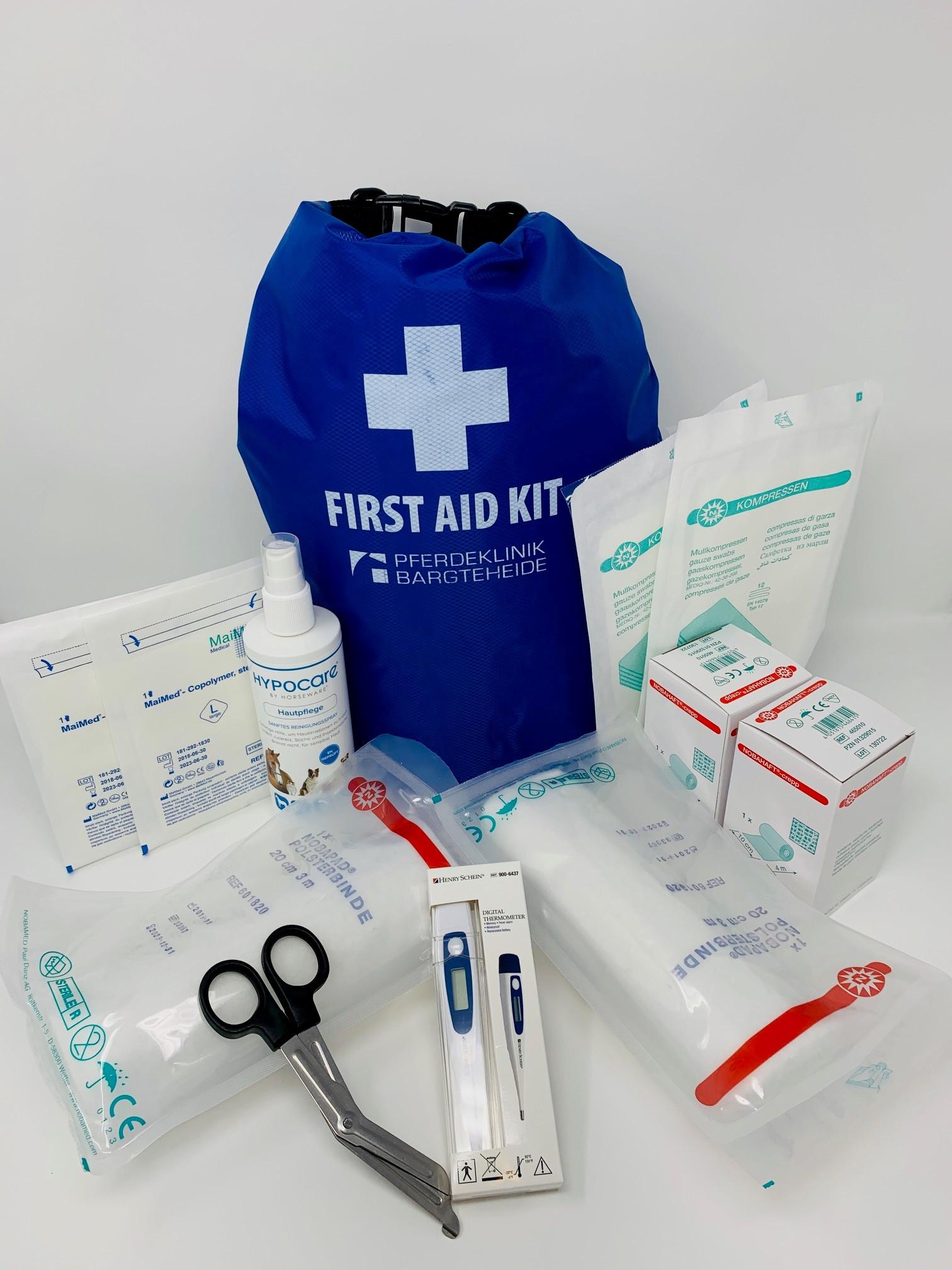 First-Aid Kit für Pferdebesitzer
