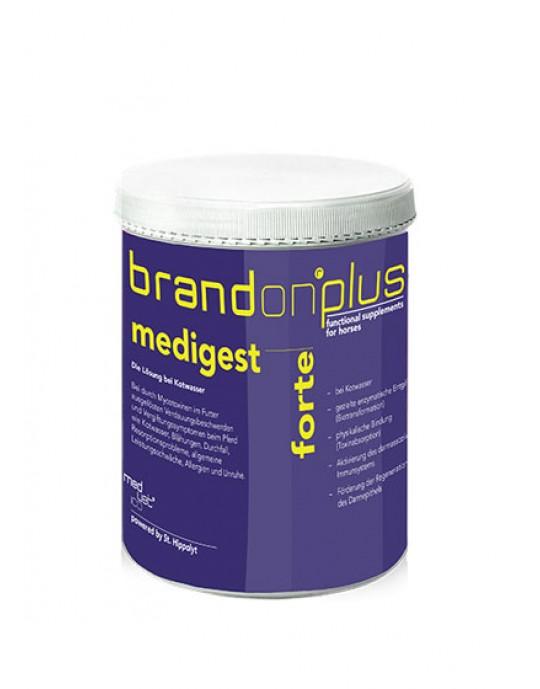 BrandonPlus Medigest Forte 1kg Dose für Pferde mit Kotwasser Problemen